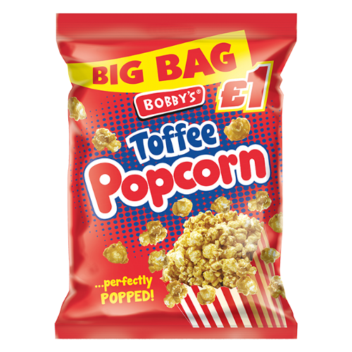 Bobbys Toffee Popcorn 110g (UK)